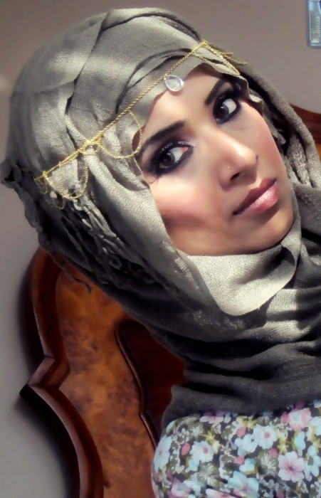 Saman, an awesome youtuber Check her out! Hijab tutorials