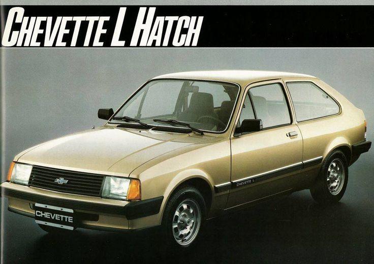 1985 Chevrolet Chevette L Hatch - Brasil