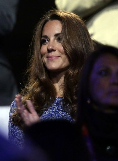 The Duchess of Cambridge joined Prince Harry at theOlympic Closing Ceremonytonight.
