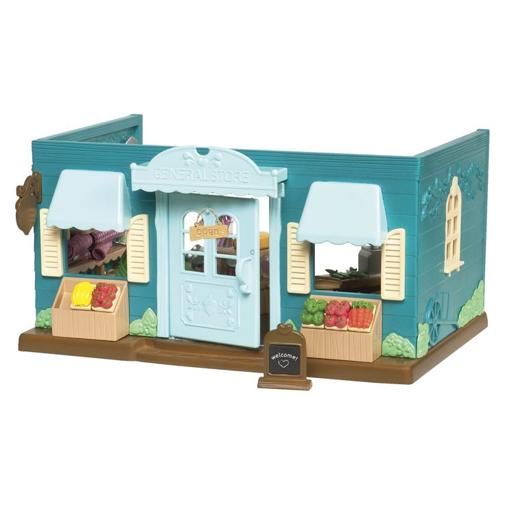 Li 39 L Woodzeez Honeysuckle Hollow General Store Toys Pinterest General Store And Ps