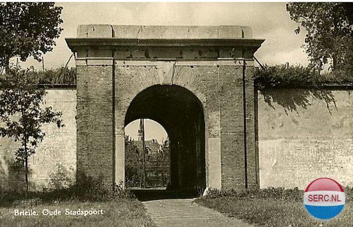 Kaaipoort Brielle (jaartal: 1950 tot 1960) - Foto's SERC