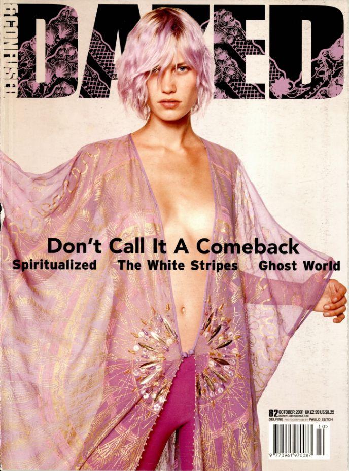 "dazeddigital: ""Delfine, Dazed October 2001, Photography Paulo Sutch, Styling Cathy Edwards. """