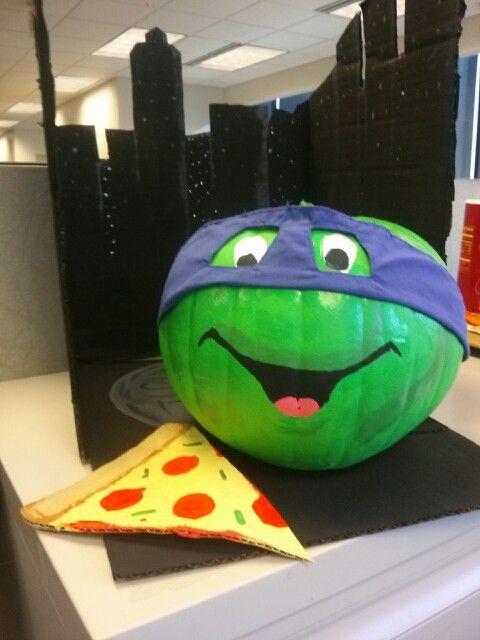 20 Best Ideas About Ninja Turtle Pumpkin On Pinterest