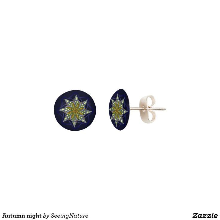 Autumn night earrings