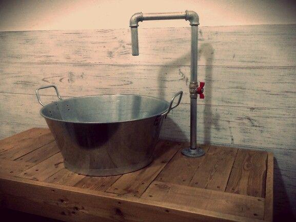 Baño Rustico / Estilo Industrial / Estilo Decoracion Vintage / Decoracion Locales Comerciales / Desvan Vintage /