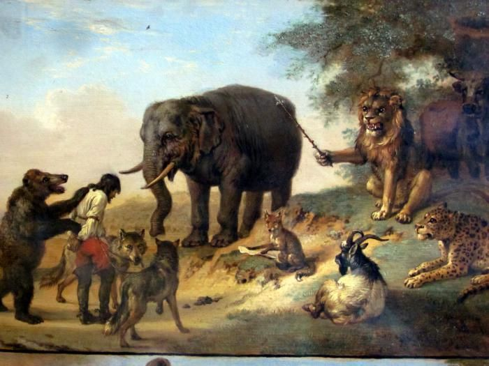Paulus Potter- part of his series, punishment of the hunter.