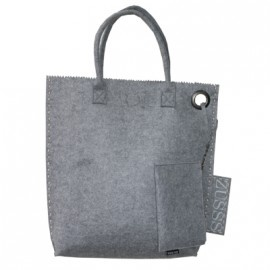 Shopper Zusss vilt grijs | Tassen en Sjaals | Label 123