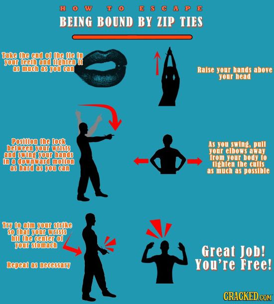 16 Self-Defense Moves To Impress Your Friends and Muggers   Cracked.com