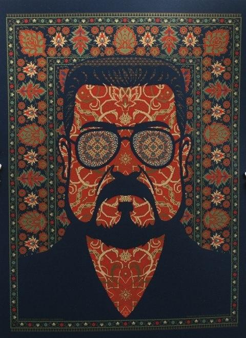 The Big Lebowski - Walter Sobchak / Shomer shabbos 2012 poster by Todd Slater