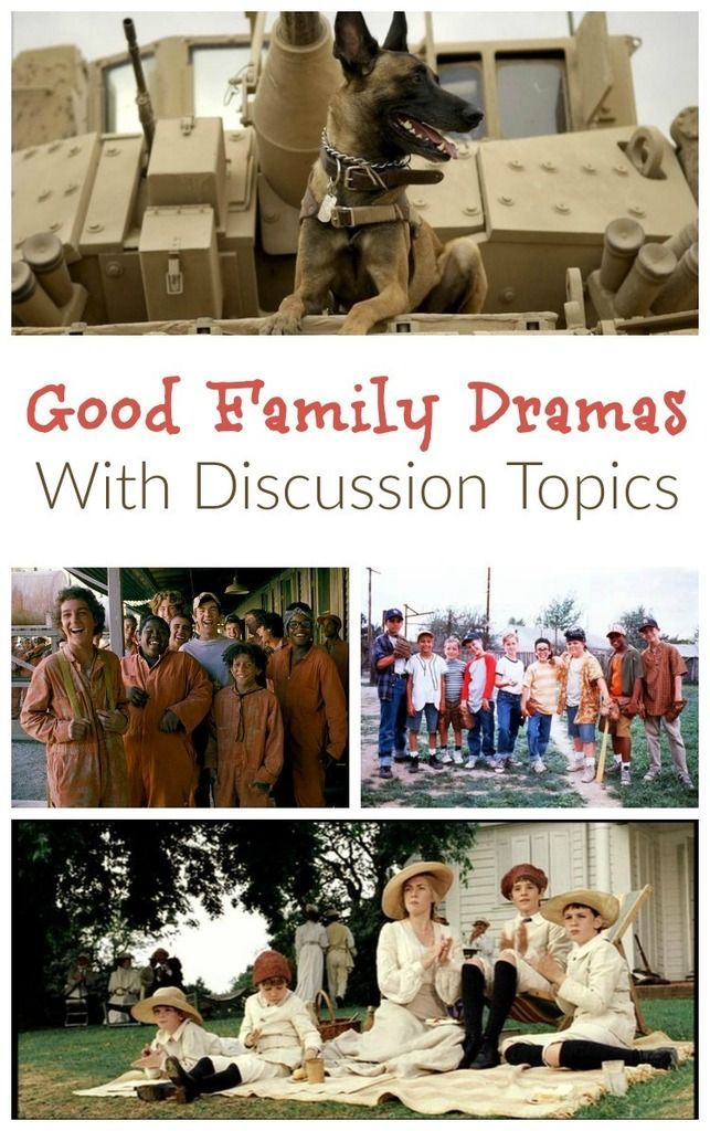 Some good family drama movies have such powerful themes, they open up a world of possible discussions after the credits roll. Check out our favorites, along with themes for discussion after the film.