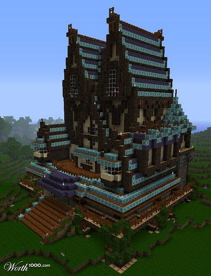 17 meilleures id es propos de manoir minecraft sur for Decoration maison minecraft