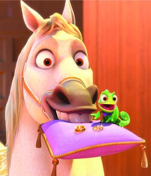 le mariage de raiponce - Raiponce Pascal