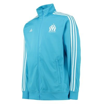 Adidas France Olympique de Marseille 3 Stripe Track Top - Olympique de Marseille 3 Stripe Track Top - Blue/Om Blue/Core WhiteShow support for your favourite team with the Olympique de Marseille 3 Stripe Track Top.Styled with an embroidered club badge from 10 http://www.MightGet.com/february-2017-2/adidas-france-olympique-de-marseille-3-stripe-track-top-.asp