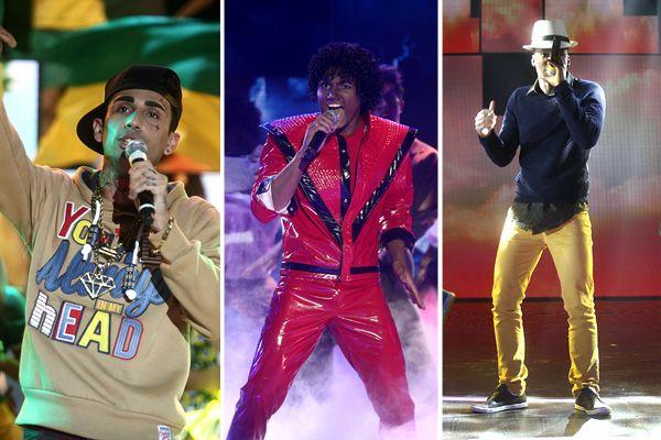 Covers de Mc Guimê, Michael Jackson e Thiaguinho agitam o Máquina da Fama