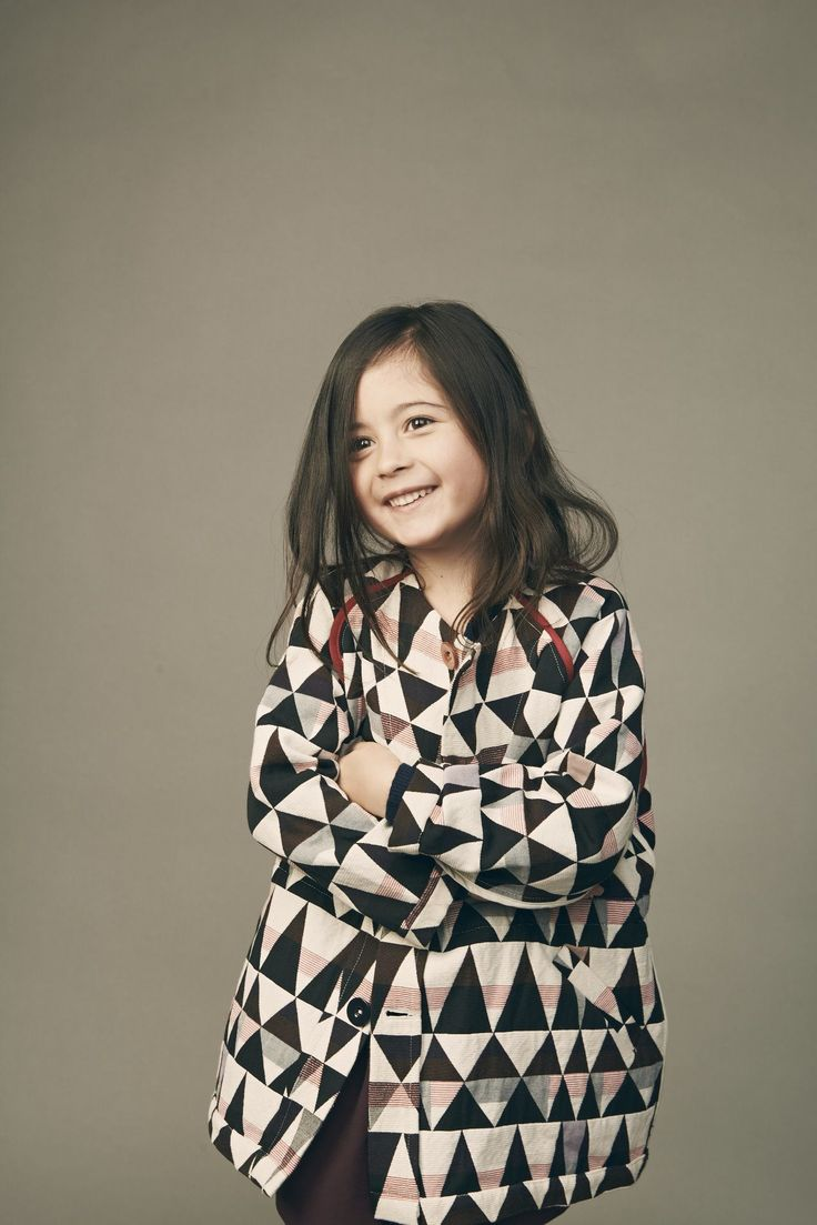 Graphic prints and stylish kids fashion from France at Leoca kidswear for fall 2015