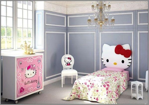 Cameretta di Hello Kitty per bambine