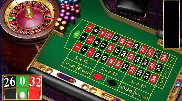 Gioco roulette rosso e nero