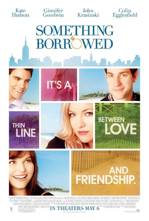 "Something Borrowed                        ""You're all going to hell anyway, so you might as well do something for yourself."""