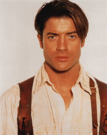 Watching 'The Mummy' on TV and I just had to pin Brendan Fraser. Love his rough and tumble character <3