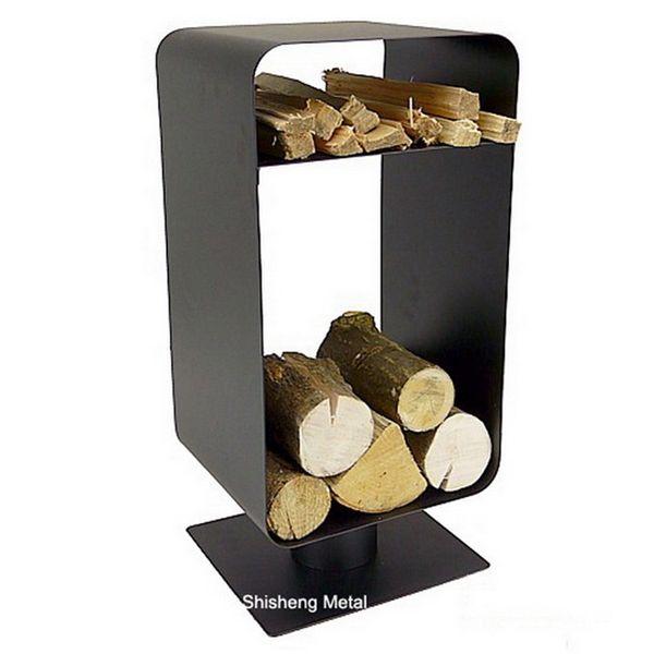 Superb Firewood Log Rack Porte Buches Firewood Storage Rack $20.80~$21.80 Design