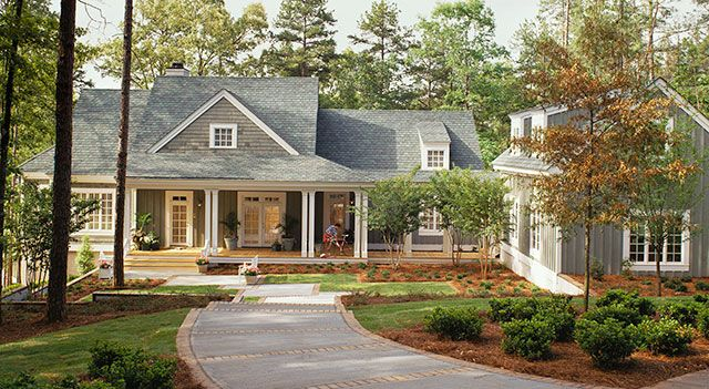Cottage blueprints and plans woodworking projects plans Southern living garage apartment plans