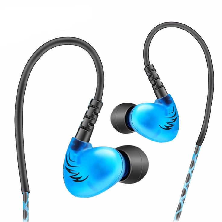 Bass Sports Headphones Earphones With Mic - Noise Cancelling