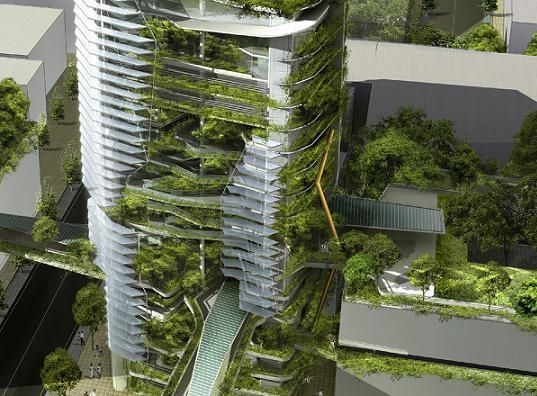 Singapore's Ecological EDITT Tower - Gallery Page 6 – Inhabitat - Sustainable Design Innovation, Eco Architecture, Green Building