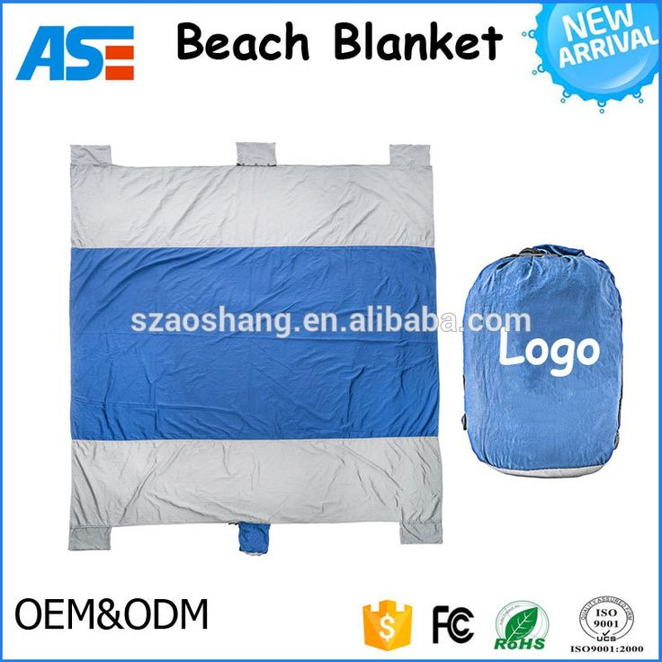 100 nylon sand proof beach blanket quick drying waterproof pocket picnic blanket