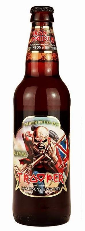 Trooper Beer courtesy of Iron Maiden.