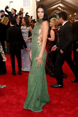 See the best Met Gala red carpet fashion: Kendall Jenner in Calvin Klein