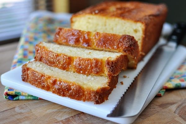 Light and extremely moist, this lemon yogurt bread seriously rocks. It is great for mid-morning snacks, after-dinner treats and anywhere in between.