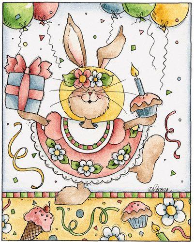 Birthday Rebecca Printable Postcard Pinterest