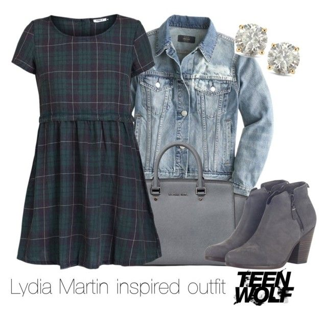 """Lydia Martin inspired outfit/Teen Wolf"" by tvdsarahmichele ❤ liked on Polyvore featuring J.Crew, Auriya, MICHAEL Michael Kors, ONLY and rag & bone"