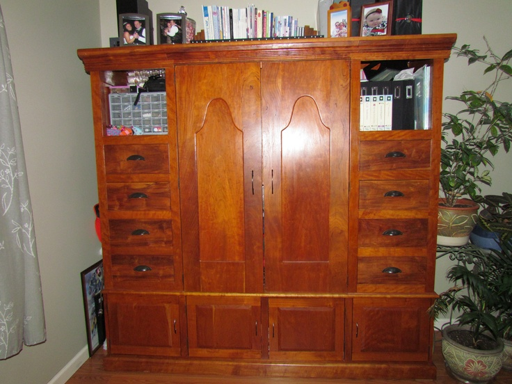This Guy In Marysville Will Custom Build You A Scrapbook Cabinet!!  425 350 7821, Ask For Dave! | Coveted Storage | Pinterest | Scrapbook,  Craft And ...