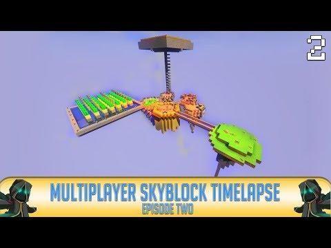 Minecraft Skyblock Timelapse Episode Minecraft Servers - Minecraft skyblock spielen