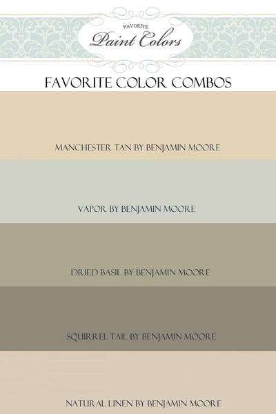 paint color combos for open concept
