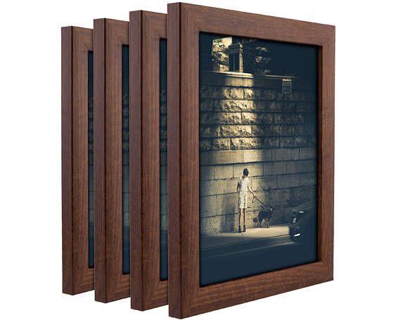 Craig Frames 10x13 Inch Honey Brown Picture Frame Set