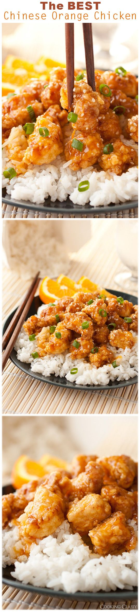 Another Pinner: Chinese Orange Chicken - this is no doubt the BEST orange chicken I've ever had! It has gotten rave reviews!