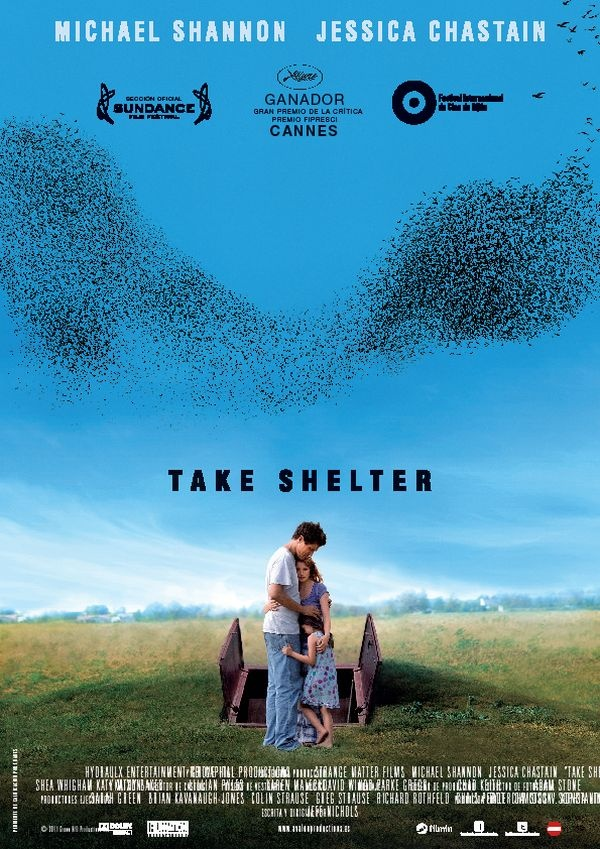 take shelter watched August 9th. Very good film. Take