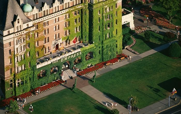 The Empress Hotel, Victoria, South Vancouver Island, BC.
