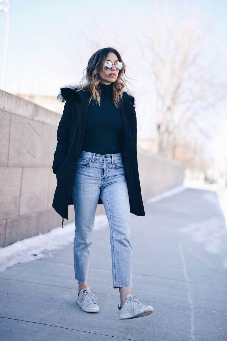 Mom Jeans Winter Outfit