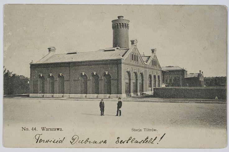 Warszawa, Stacja Filtrów (1912)