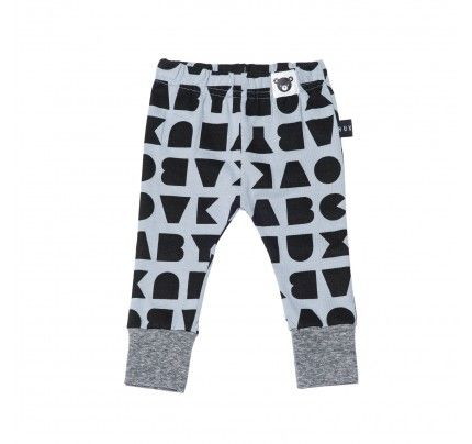 Block Skinny Legging from Huxbaby's AW16 collection from Baby Dino.  www.babydino.com.au