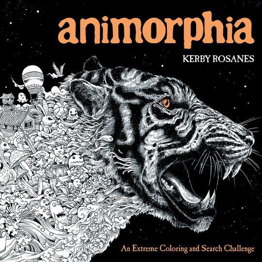Booktopia Has Animorphia An Extreme Colouring And Search Challenge By Kerby Rosanes Buy A Discounted Paperback Of Online From Australias