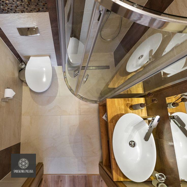 Apartament Śnieżny - zapraszamy! #poland #polska #malopolska #zakopane #resort #apartamenty #apartamentos #noclegi #bathroom #łazienka