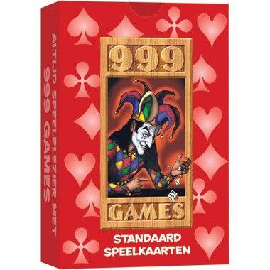 Kaartspel rood  Wil je een kaartspelletje met je vrienden of alleen spelen? Dit is een compleet kaartspel van 999 Games waar je alle soorten kaartspelletjes mee kunt spelen. Met 52 bridgekaarten 2 jokers en 1 999-Games kaart.  EUR 3.79  Meer informatie