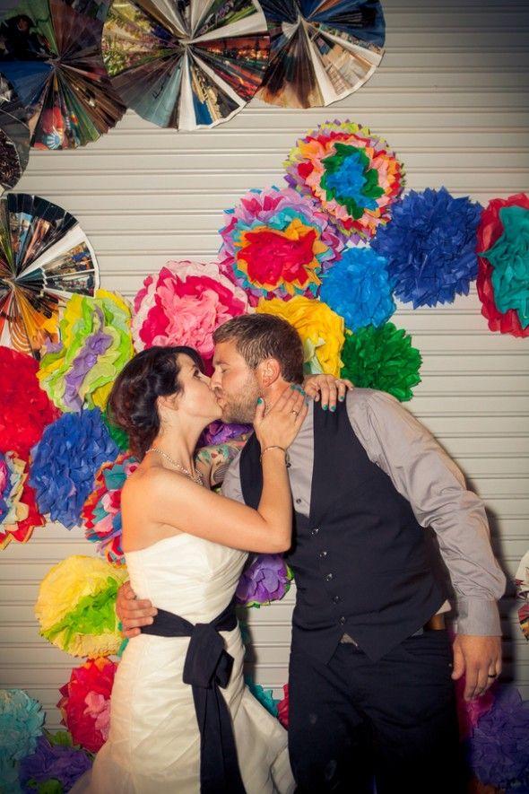 Los Angeles Rustic DIY Wedding