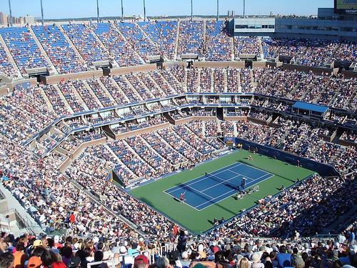 Centre Court - US Open tennis 2008