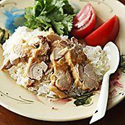 タイ風鶏のせごはん(カオマンガイ)のレシピ・作り方
