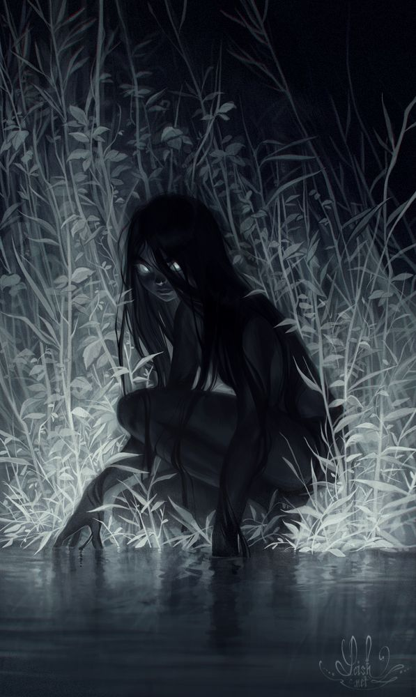 nocturne by Loish on Deviantart, Darkness, Character Design, Digital Painting, Digital Art, Illustration, Inspirational Art Más